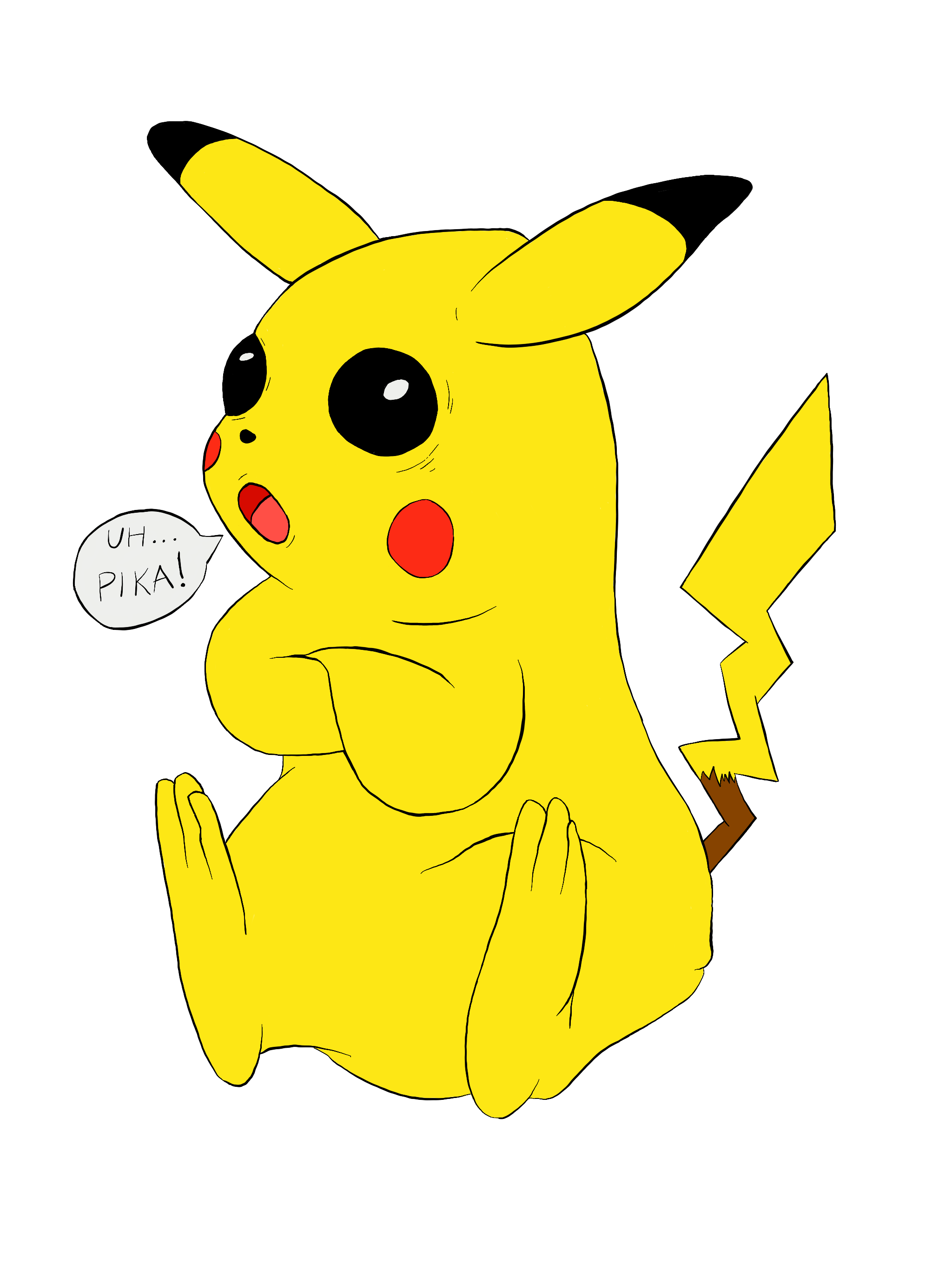 Drawing pikachu bydood pikachu thecheapjerseys Image collections